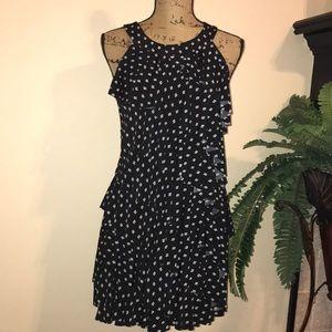 WHBM Ruffled Dress